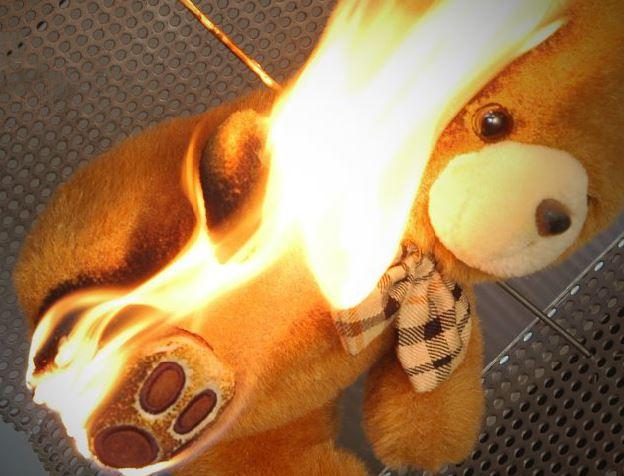 vlamwerendheid tester